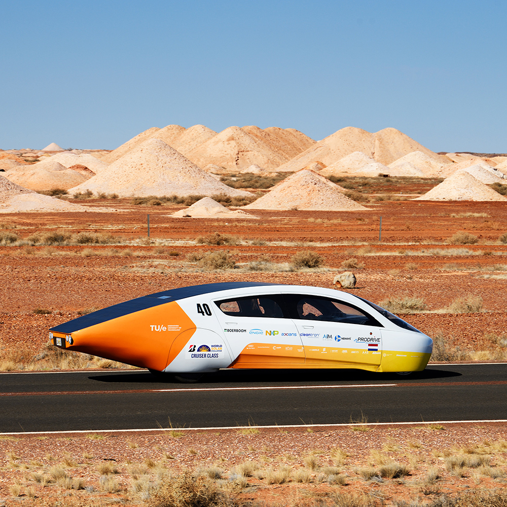 Solar Team Eindhoven at the World Solar Challenge